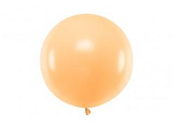 Balão Redondo Cor de Pêssego 60cm
