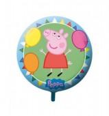 Balão redondo Porquinha Peppa 42cm