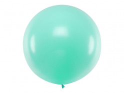 Balão Redondo Verde Menta 1m