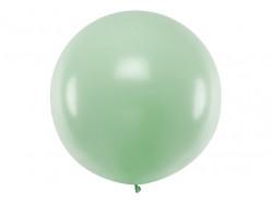 Balão Redondo Verde Pistachio 1m