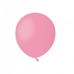 """Balão Rosa 5"""" (13cm)"""