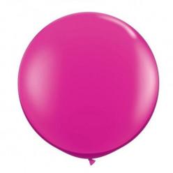 """Balão Rosa Fúscia 19"""" (48cm)"""