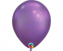 Balão Roxo Chrome 7''