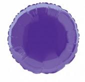 Balão Roxo Metalizado 45cm (18