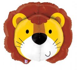 Balão Shape 3D Leão 76cm