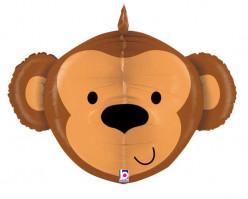 Balão Shape 3D Macaco 69cm