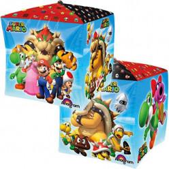 Balão Super Mario Cubez 38cm