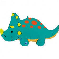 Balão Supershape Dinossauro Triceratops 91cm