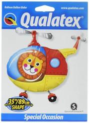 Balão Supershape Leão Piloto Helicoptero