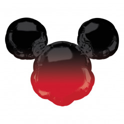 Balão Supershape Mickey Forever Ombre 68cm