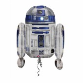Balão Supershape R2D2 Star Wars 66cm