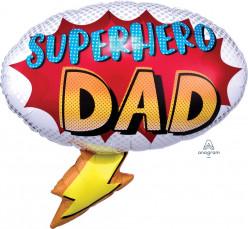 Balão Supershape Superhero Dad 68cm