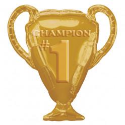 Balão Supershape Troféu Dourado