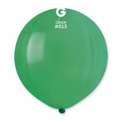 """Balão Verde 19"""" (48cm)"""