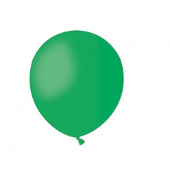 """Balão Verde 5"""" (13cm)"""