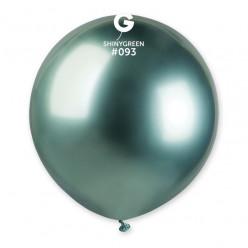 """Balão Verde Brilhante 19"""" (48cm)"""