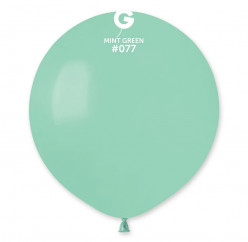 """Balão Verde Menta 19"""" (48cm)"""