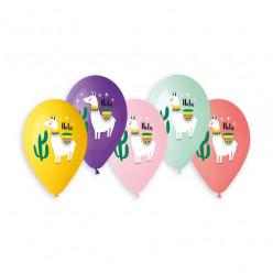 "Balões Lamas Premium 13"" Sortido"