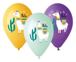 Balões Lamas Premium - 5 Und