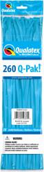 Balões Modelagem Azuis Qualatex 260Q