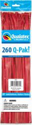 Balões Modelagem Vermelhos Qualatex 260Q