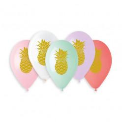 "Balões Premium13"" Ananás sortidos"