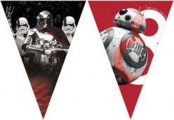 Bandeirola Star Wars Episódio 8