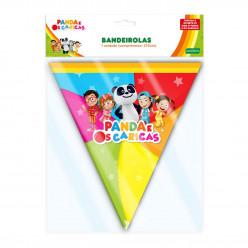 Bandeirolas Panda e os Caricas