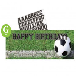 Banner Faixa Futebol Personalizável