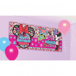 Banner Faixa Minnie Personalizável