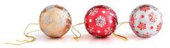Bola Chocolate Árvore Natal 3cm