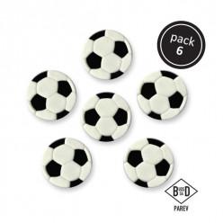 Bola Futebol Comestível Decoração PME
