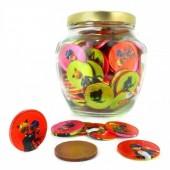 Bomboneira Ladybug Moedas Chocolate - 175Und