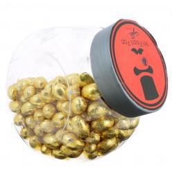 Bomboneira Ovos Chocolate Dourado