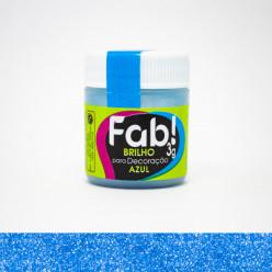Brilho para Decoração FAB Azul 3g