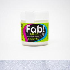 Brilho para Decoração FAB Cristal 3g