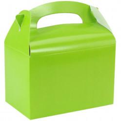 Caixa Brinde Verde Neon