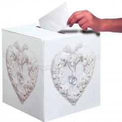 Caixa cartão Prenda Casamento