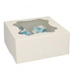 Caixa Cupcake Branca FunCakes