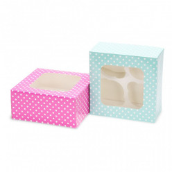 Caixas para 4 Cupcakes