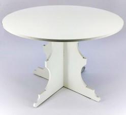 Cake Stand MDF Branco 30cm