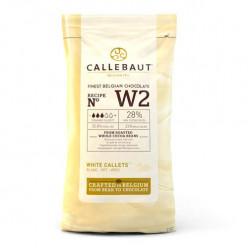Callebaut Callets Chocolate Branco NºW2 - 1kg