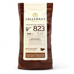 Callebaut Callets Chocolate de Leite Nº823 - 1kg