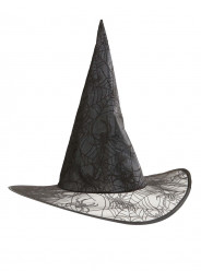 Chapéu Bruxa Teia de Aranha Adulto Halloween