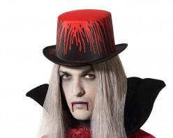Chapéu Cartola Vampiro Halloween