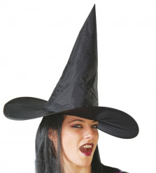 Chapéu de Bruxa com Cabelo Adulto