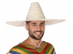 Chapéu Palha Sombrero 55cm