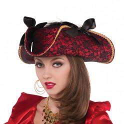 Chapéu Pirata Deluxe Mulher