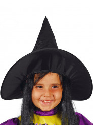 Chapéu Preto de Bruxa Halloween
