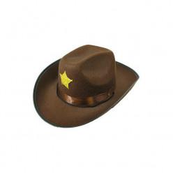 Chapeu Xerife Cowboy Adulto